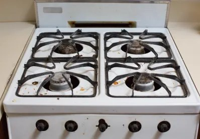 kitchen stove tops cabinets for cheap how to clean a greasy gas stovetop kitchn