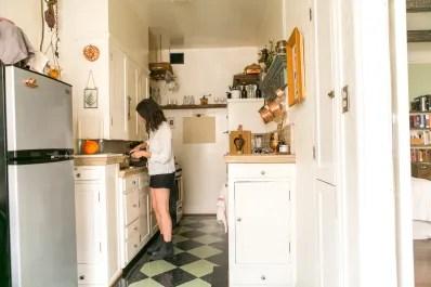 kitchen hood vent flush mount lighting range alternatives window fan review kitchn image credit marisa vitale
