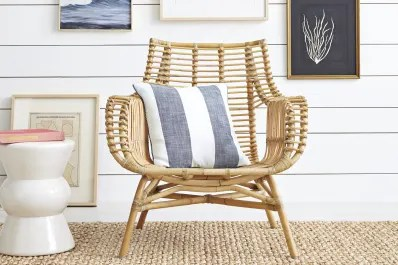 unique chairs for living room home lighting design 12 really good looking wicker rattan apartment therapy