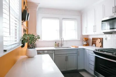 kitchen corner cabinet how to paint cabinets grey ideas kitchn angle the