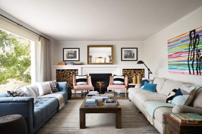 apartment therapy living room arrangements small with log burner why you should face sofas to save space