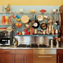 Kitchen Wire Rack Chalkboard In Storage Tip Use Shelving On Top Of Your Countersdwell Kitchn We Re Sure The This Los Angeles Was Designed To Fit Exact Space But Doesn T It Look Just Like Generic