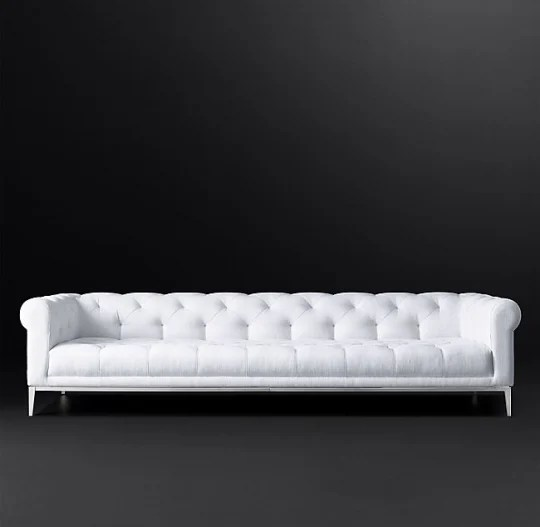 chesterfield sofa material best set company in india style classic 12 charming sofas for every budget italia fabric at rh