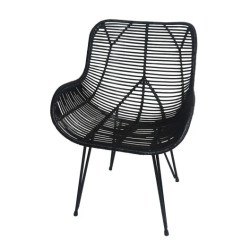 Where To Buy Wicker Chairs Foldable Floor Chair Malaysia 12 Really Good Looking Rattan Apartment Therapy Accent In Black