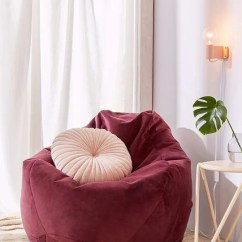 Dorm Chair Covers Etsy Futon Folding Believe It Or Not 10 Surprisingly Stylish Beanbag Chairs Noah Velvet Lounge At Urban Outfitters