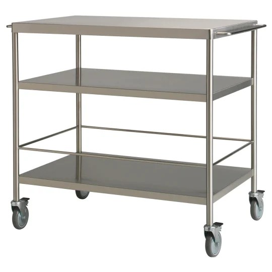 kitchen cart table carbon steel knives carts and islands for every budget apartment therapy flytta