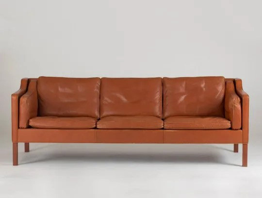 modern brown leather sofa billig sofaer shopping guide to the best sofas apartment therapy by borge mogensen