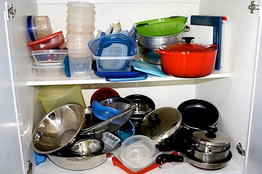 kitchen pots and pans glad tall bags how to declutter your tools kitchn congratulations everyone who finished the first week of cure by cleaning out fridge freezer pantry if you haven t got that far yet