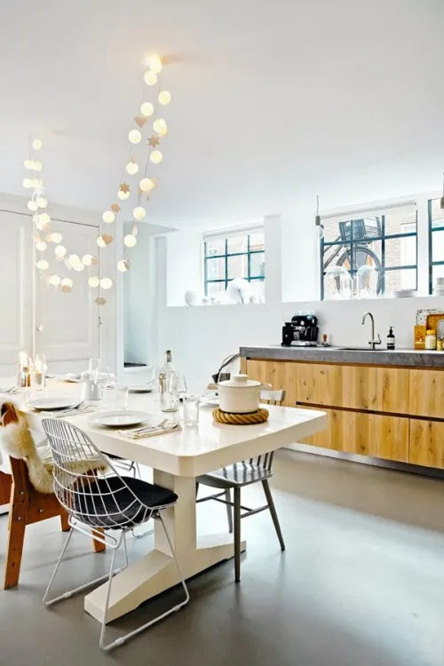 light kitchen table lantern lighting would you use a string of lights as your main source 435731679e6b9f054ae8affcee280ee49a44f0b3