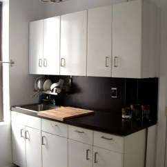 Tile For Kitchen Countertops Ashley Furniture Table And Chairs 10 Ways We Ve Disguised Ugly Rental Kitchn