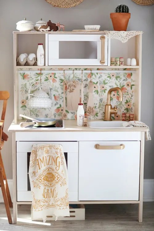 kid kitchens tall narrow kitchen cabinet ikea play 15 duktig hacks apartment therapy not only is this
