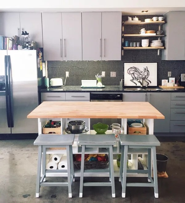 kitchen islands ikea 6 piece table sets hack island diy for 200 apartment therapy