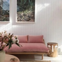 Pink Sofas Wicker Outdoor Sofa Set When Two Trends Collide 9 Beautiful Velvet Apartment Therapy
