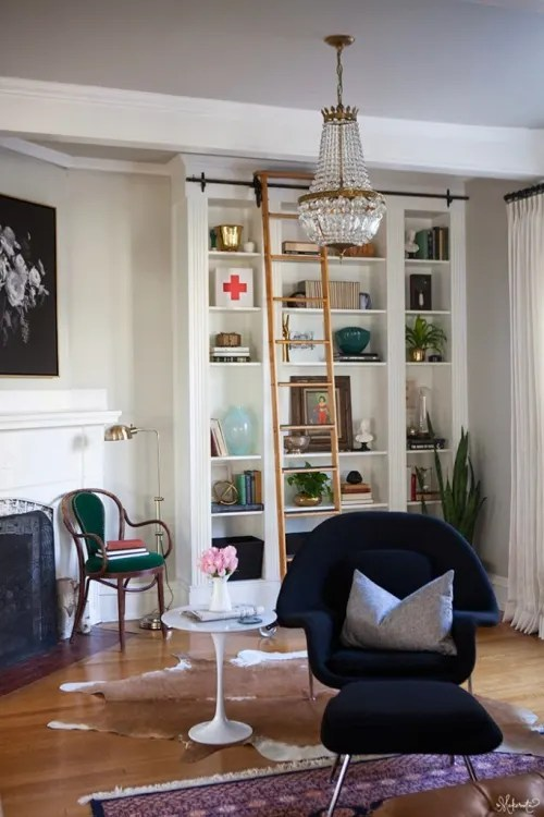 diy shelves in living room sunken design ideas pictures built bookshelves on a budget apartment therapy