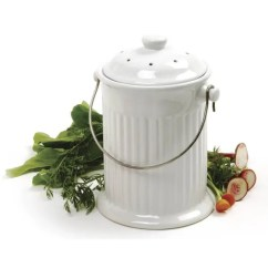Compost Bin For Kitchen Storage Cabinets The Best Looking Indoor Composting Bins Your Apartment Image Credit Amazon