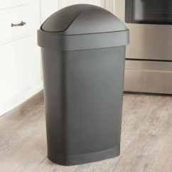 Kitchen Trash Bin Franco Sinks The Best Cans At Every Price Point Apartment Therapy Under 30