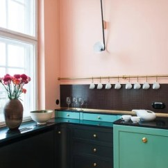 Beautiful Kitchen Cabinets Table With Bench Seating That Are Incredibly Apartment Therapy Image Credit Gisbert Poeppler Unusual Colors And Detailing Make The In This