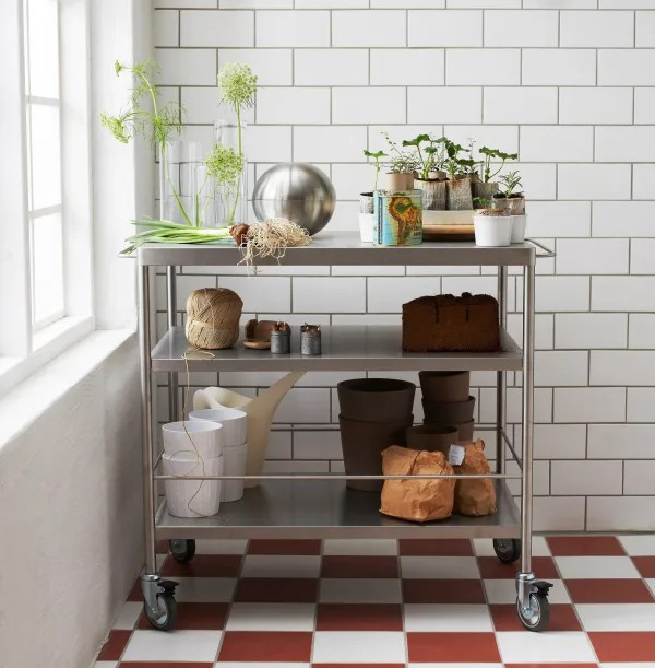 cart for kitchen small dishwashers kitchens carts and islands every budget apartment therapy