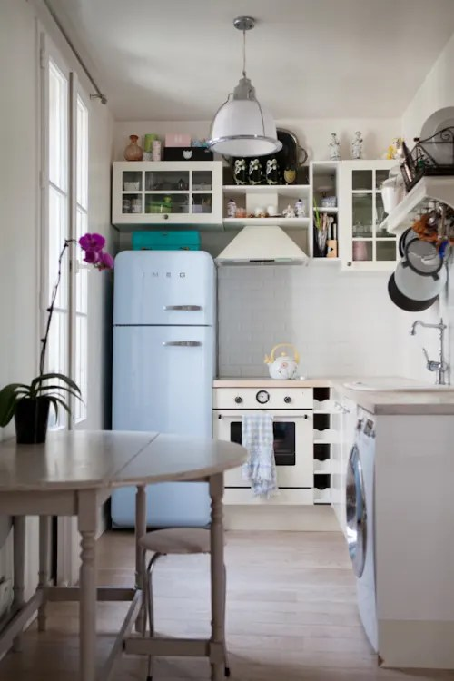small kitchens flush mount kitchen light 5 things that make a look bigger kitchn