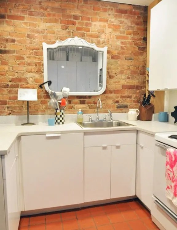 kitchen mirrors blender no window in your problem hang a mirror instead kitchn more the