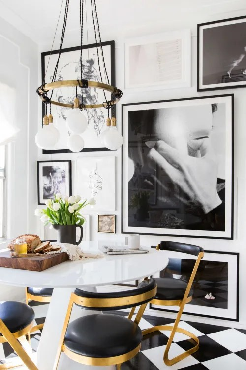 apartment therapy living room arrangements sofa and chair sets gallery wall ideas other art to try image credit tessa neustadt for emily henderson