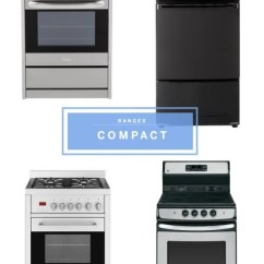 Compact Appliances For Small Kitchens Crosley Kitchen Islands Well Designed Apartment Therapy Image Credit Melissa Direnzo