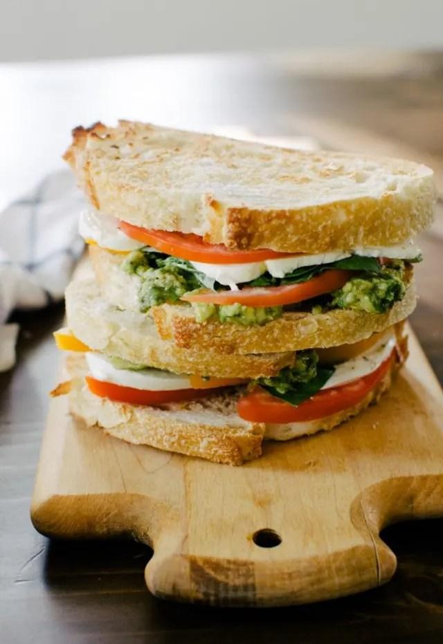 Mozzacado Sandwich How To Make Baked Tofu Fudgy Oatmeal