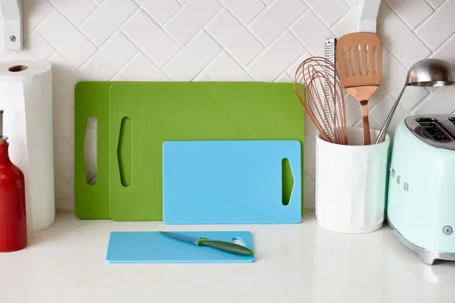 kitchen cutting boards base cabinets the best kind of board kitchn we re finally setting record straight on which is plastic wood or bamboo