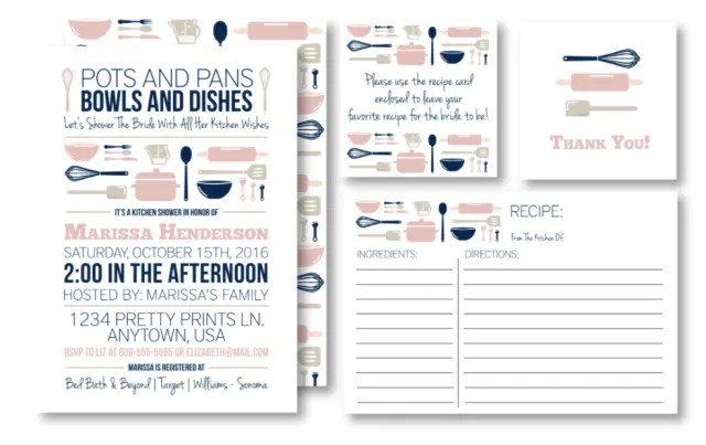 kitchen bridal shower kids toys what s a stock the kitchn invitation set 18 for printable at mkkmdesigns