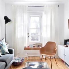 Furnishing A Tiny Living Room End Tables Big Lots Best Small Design Ideas Apartment Therapy Image Credit Marie Lyne Quirion