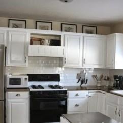 Complete Kitchen Kohler Porcelain Sink Before Amp After An 800 Makeover Kitchn Image Credit On Bliss Street