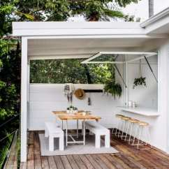 Outside Kitchen Designs White Stools Outdoor Ideas Inspiration Apartment Therapy