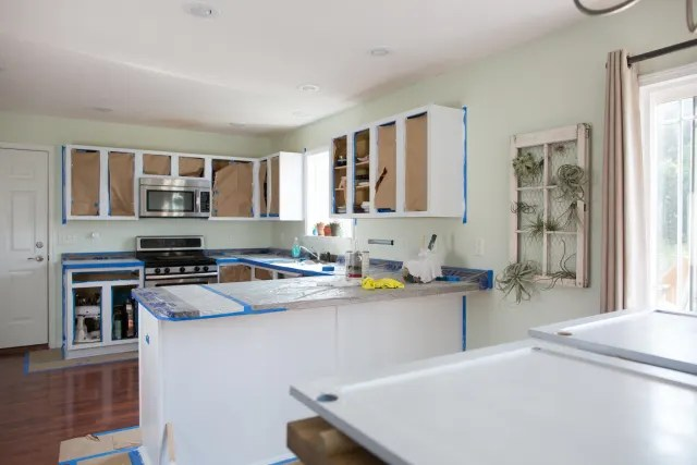 can i paint my kitchen cabinets best hoods how much will it cost to kitchn image credit diana paulson