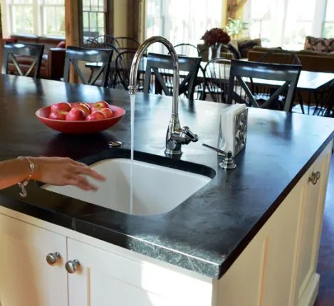 soapstone kitchen counters white eyelet curtains all about countertops kitchn material