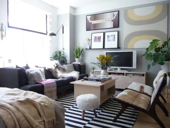 how to layout your small living room interior decorating ideas painting 5 genius for furniture in a studio apartment arranging space is always bit of challenge and this particularly true if bedroom dining