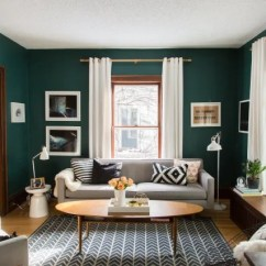 No Coffee Table Living Room Color Sofas The Best Ways To Style Your Apartment Therapy 1 Go Scandi