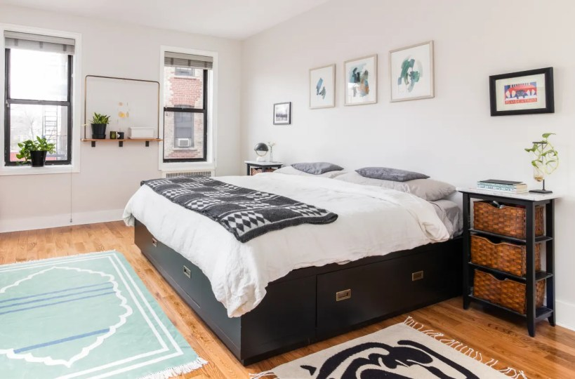 Dormitorio reformado en Brooklyn