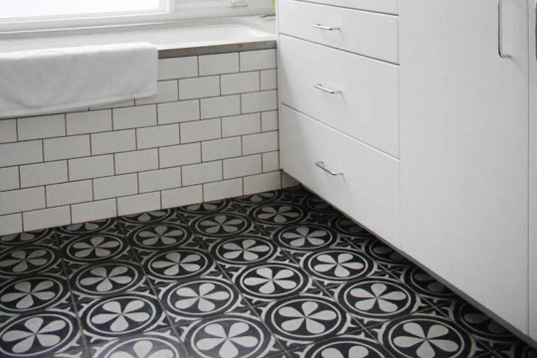 gorgeous black white tile patterns