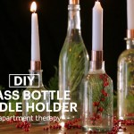 Project Idea Wine Bottle Candle Holder How To Video Apartment Therapy