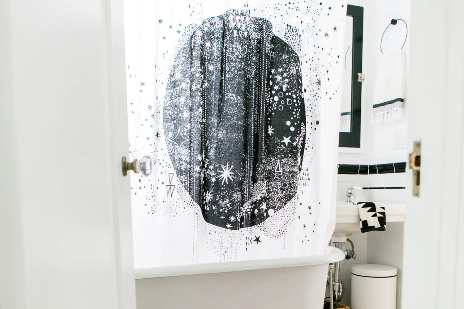 how to keep your shower curtain liner