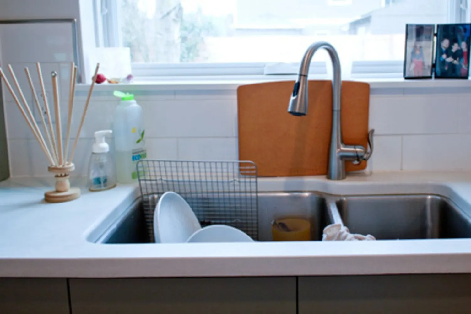 all about double bowl sinks kitchn