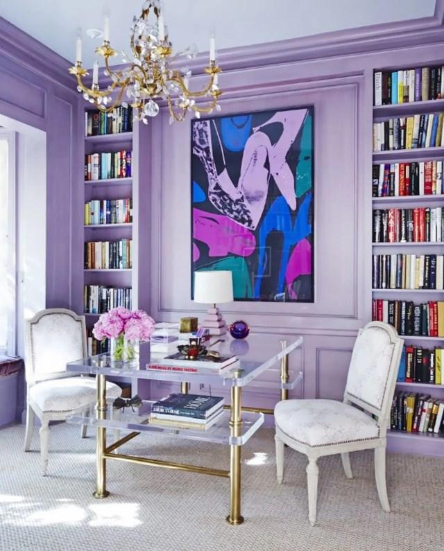 Purple Room Decor - Lavender Home Design Ideas   Apartment Therapy