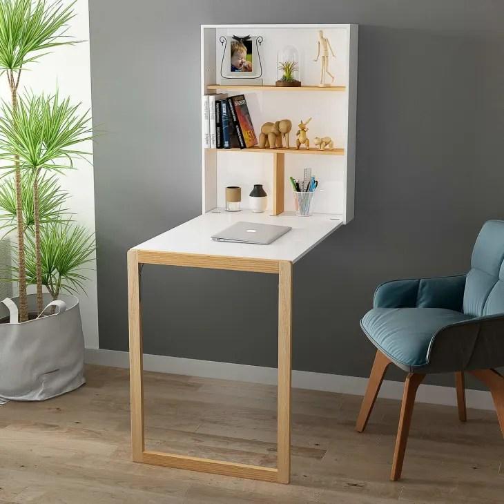 wall mounted folding desks