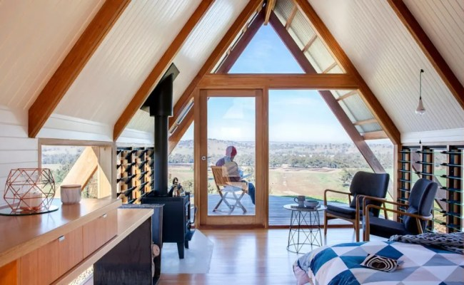 This A Frame Tiny House In Australia Is Off The Grid