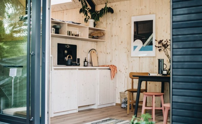 Prefab Tiny House Berlin Startup Cabin Spacey Apartment