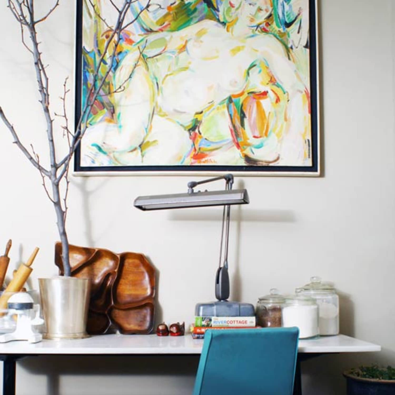 Matt Zacks Masculine Mid Century Home Apartment Therapy