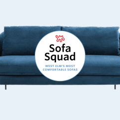 West Elm Dunham Sofa Reviews Leather Loveseat Bed The Most Comfortable Sofas At Tested Reviewed Apartment Therapy
