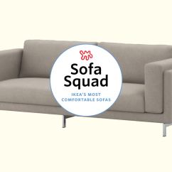 Most Comfortable Ikea Sofa Jensen Lewis Sofas The Best Apartment Therapy