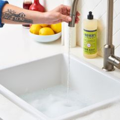 Kitchen Drain Cleaner Granite Sinks How To Clean Your Sink And Disposal Apartment Therapy