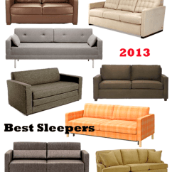 Best Apartment Sofa Bed Large Throws 16 Sleeper Sofas And Beds 2013 Therapy